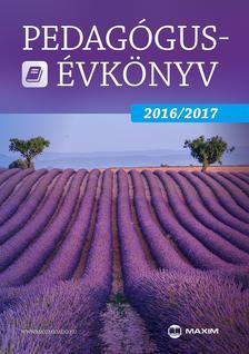 - Pedagógusévkönyv 2016/2017