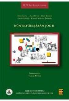 Erdei Árpád, Hack Péter (szerk.), Holé Katalin, Király Eszter, Koósné Mohácsi Barbara - Büntetőeljárási jog II.