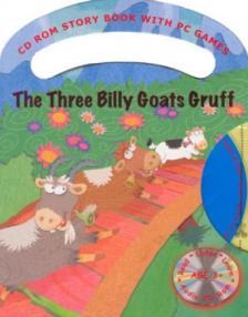 - THE THREE BILLY GOATS GRUFF - CD-ROMMAL