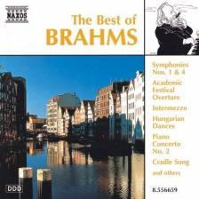 BRAHMS - THE BEST OF BRAHMS - SYMPHONIES NO.1,4, HUNGARIAN DANCES CD