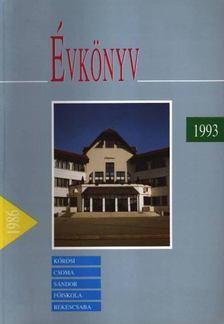 Évkönyv 1993. [antikvár]