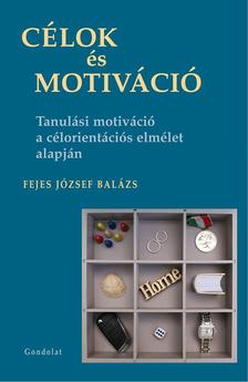 Fejes József Balázs - Célok és motiváció