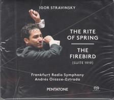 STRAVINSKY - THE RITE OF SPRING - THE FIREBIRD CD ANDRÉS OROZCO-ESTRADA