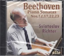 BEETHOVEN - PIANO SONATAS NOS.12, 17, 22, 23 CD SVIATOSLAV RICHTER