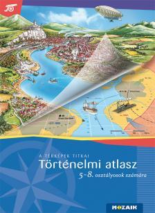 HORVÁTH ANDREA - HORVÁTH LEVENTE - Történelmi atlasz 5-8. évfolyam (MS-4115U)
