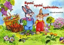 - Nyuszi, nyuszi, nyulacskám... - Húsvéti mondókák