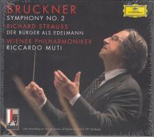 BRUCHNER - SYMPHONY NO.2 2CD RICCARDO MUTI