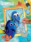 - - Disney - Vízzel festhető színezőkönyv - Szenilla nyomában