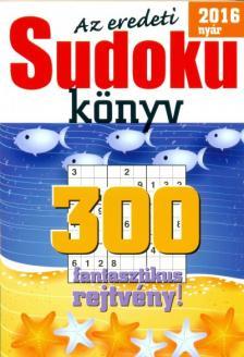 - Az eredeti Sudoku 2016 nyári könyv