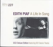 A LIFE IN SONG EDITH PIAF 3CD
