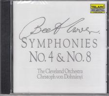 BEETHOVEN - SYMPHONIES NO.4 & NO.8 CD