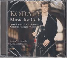 KODÁLY ZOLTÁN - MUSIC FOR CELLO CD VÁRDAI ISTVÁN