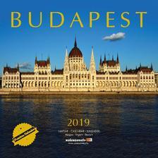SmartCalendart Kft. - Naptár 2019 Budapest prémium 30x30 cm