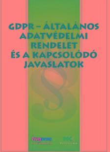 GDPR-Általános Adatvédelmi Rendelet és a kapcsolódó javaslatok A/4