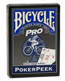 1017493 - Bicycle Pro Pokerpeek kártya, piros-kék