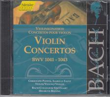 Bach - VIOLIN CONCERTOS BWV 1041-1043 CD POPPEN, FAUST, RILLING