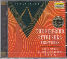 STRAVINSKY - THE FIREBIRD CD