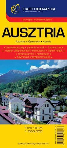 Cartographia - AUSZTRIA AUTÓTÉRKÉPE - CART. - 1:500.000 -