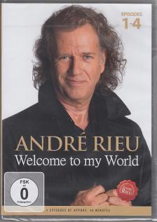 - WEOLCOME TO MY WORLD (4EPISODES OF APPROX) - ANDRÉ RIEU DVD