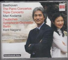 BEETHOVEN - THE PIANO CONCERTOS - TRIPLE CONCERTO 3CD MARI KODAMA, KENT NAGANO