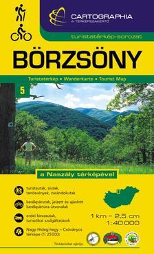 """Cartographia - BÖRZSÖNY TURISTATÉRKÉP 1:40000 """"SC"""""""