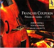 COUPERIN - PIÉCES DE VIOLES CD