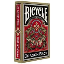 1025004 - Bicycle Gold Dragon Back kártya