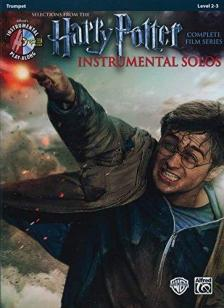 HARRY POTTER. SELECT. FORM THE CPLT FILM SERIES. INSTR. SOLOS TRUMPET LEVEL 2-3 + CD