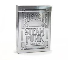 1025591 - Bicycle Premium Silver Steampunk kártya