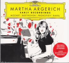 MOZART - BEETHOVEN - PROKOFIEV - RAVEL - MARTHA ARGERICH EARLY RECORDINGS 2CD