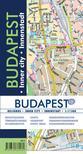 Budapest belváros térkép 1:11500<!--span style='font-size:10px;'>(G)</span-->