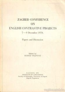 Zagreb Conference on English Contrastive Projects [antikvár]