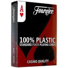 1028934 - Fournier No 2500, standard index 100% plasztik kártya
