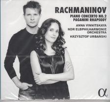 RACHMANINOV - PIANO CONCERTO NO.2 - PAGANINI RHAPSODY CD VINNITSKAYA, URBANSKI