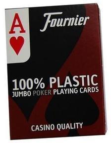 1028935 - Fournier No 2800, jumbo index 100% plasztik kártya