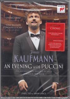 Puccini - AN EVENING WITH PUCCINI DVD JONAS KAUFMANN