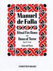 FALLA, MANUEL DE - RITUAL FIRE DANCE AND DANCE OF TERROR FROM EL AMOR FOR CELLO AND PIANO