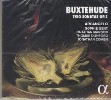BUXTEHUDE - TRIO SONATAS OP.1 CD ARCANGELO