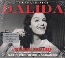 - THE VERY BEST OF DALIDA, 50 ORIGINAL RECORDINGS 2CD