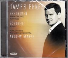 BEETHOVEN, SCHUBERT - VIOLIN CONCERTO - ROMANCES - RONDO CD JAMES EHNES, ANDREW MANZE