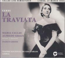 Verdi - LA TRAVIATA 2CD MARIA CALLAS, ALFREDO KRAUS