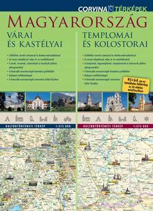 Magyarország várai és kastélyai / Magyarország templomai és kolostorai - duótérkép ###