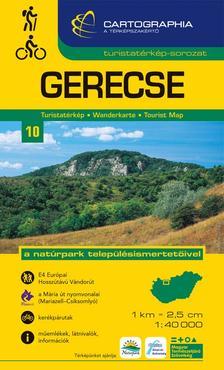 Cartographia Kiadó - GERECSE TURISTATÉRKÉP 10. 1:40000 CART.