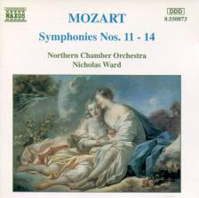 MOZART - SYMPHONIES K.84,110,112,114 CD WARD, NORTHERN CHAMBER ORCHESTRA