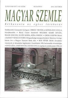 - MAGYAR SZEMLE - 2016. OKTÓBER