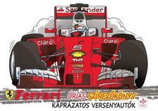 Giorgio Di Vita - Káprázatos versenyautók - Ferrari óriás színezőkönyv