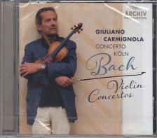 J. S. Bach - VIOLIN CONCERTOS CD CARMIGNOLA