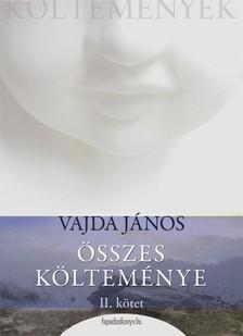 VAJDA JÁNOS - Vajda János öszes költeménye 2.rész [eKönyv: epub, mobi]