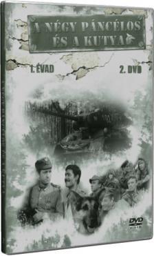 MIRAX BLUEBLACK 1908 KER. ÉS SZOLG. KFT. 2 - A NÉGY PÁNCÉLOS ÉS A KUTYA 1. ÉVAD 2. - DVD -