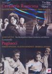 MASCAGNI - LEONCAVALLO - CAVALLERIA RUSTICANA - PAGLIACCI DVD DOMINGO, TROYANOS, MILNES, LEVINE